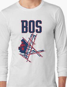 Boston Airport Long Sleeve T-Shirt