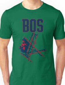 Boston Airport Unisex T-Shirt