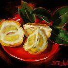 Bush Lemon Sliced by Margaret Stockdale