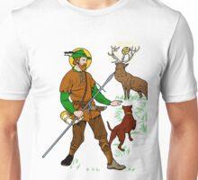 ST HUBERT OF LIEGE the HUNTER Unisex T-Shirt