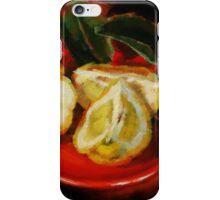 Bush Lemon Sliced iPhone Case/Skin