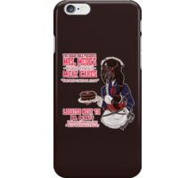 Mrs. Meido's Meat Cakes iPhone Case/Skin