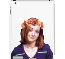 Willow Rosenberg - Flower Crown iPad Case/Skin
