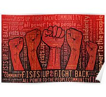Fists Up, Fight Back! Poster