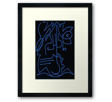 After Picasso -  Uno Framed Print