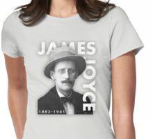 James Joyce Writer Womens Fitted T-Shirt