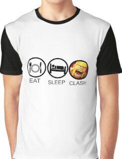Eat Sleep Graphic T-Shirt