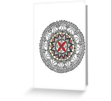 ARC Mandala Greeting Card