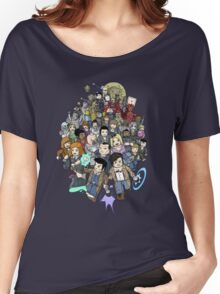 DOCTOR WHOZZAT? BLOCKY Women's Relaxed Fit T-Shirt