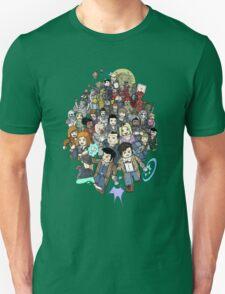 DOCTOR WHOZZAT? BLOCKY T-Shirt