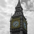 Clock Tower, Palace of Westminster, London, UK by Philip Mitchell