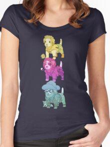 KURT RUSSELL TERRIER Women's Fitted Scoop T-Shirt