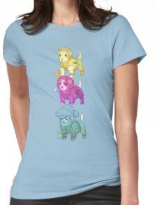 KURT RUSSELL TERRIER Womens Fitted T-Shirt