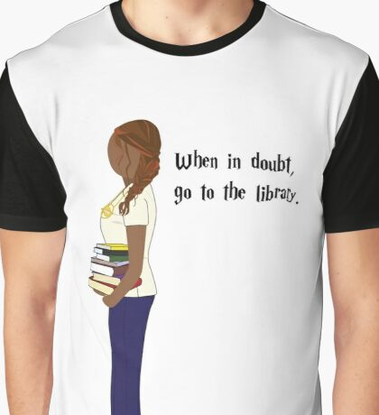 Hermione's Books Graphic T-Shirt