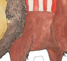 Mark Ruffalo the American Buffalo Sticker