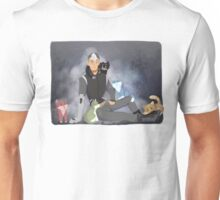 Space Dad and his Space Cats Unisex T-Shirt
