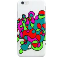 Space Zone Abstract iPhone Case/Skin