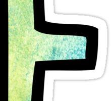 Letter E Sticker