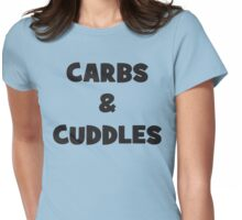 Carbs and Cuddles Womens Fitted T-Shirt