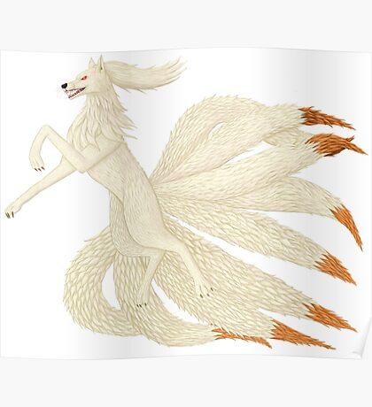 Realistic Ninetales Poster