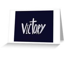 Victory x Navy Greeting Card