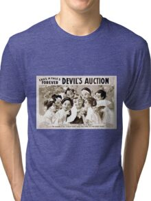 Performing Arts Posters Chas H Yales forever Devils auction 1070 Tri-blend T-Shirt