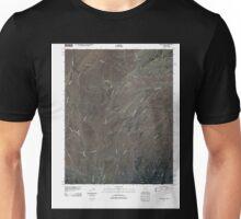 USGS TOPO Map Arizona AZ Cow Butte 20110316 TM Unisex T-Shirt