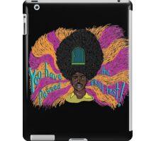 Rudy - The Mighty Boosh - Rudi van DiSarzio - Psychedelic Monk iPad Case/Skin
