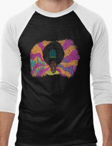 Rudy - The Mighty Boosh - Rudi van DiSarzio - Psychedelic Monk Men's Baseball ¾ T-Shirt
