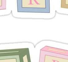 CRY BABY BLOCKS Sticker