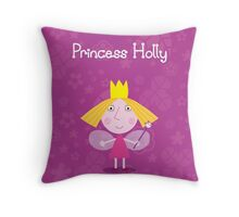 Princess Holly Throw Pillow/Tote Bag Throw Pillow