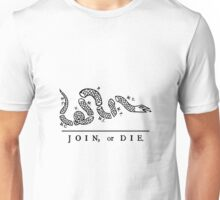 Join or Die, United States Military Unisex T-Shirt