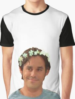 Xander Harris - Flower Crown Graphic T-Shirt