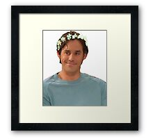 Xander Harris - Flower Crown Framed Print