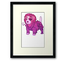 KURT RUSSELL TERRIER - ESCAPE FROM NEW YORK Framed Print