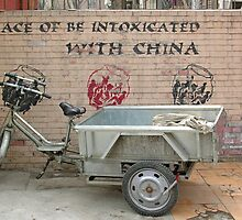 """""""Place of be intoxicated with China"""", Ritan Lu, Beijing by Philip Mitchell"""