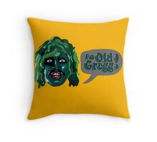 I'm Old Gregg! - The Mighty Boosh Characters Throw Pillow