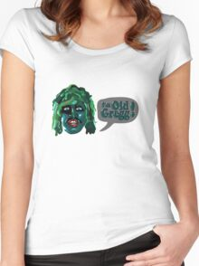 I'm Old Gregg! - The Mighty Boosh Characters Women's Fitted Scoop T-Shirt