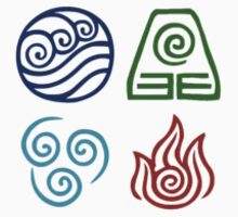 Avatar Element Symbols T-Shirt
