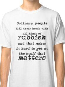 BBC Sherlock Ordinary People Classic T-Shirt