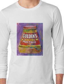 Gulden's Spicy Brown Mustard Long Sleeve T-Shirt