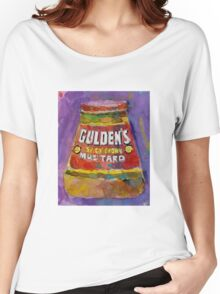 Gulden's Spicy Brown Mustard Women's Relaxed Fit T-Shirt