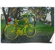 Yellow Bike.. Poster