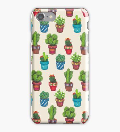 Cactus Pot Plant Garden iPhone Case/Skin