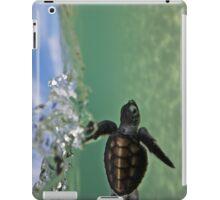 Baby surfing ninja turtle iPad Case/Skin