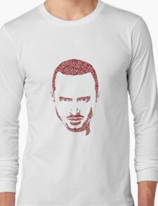 jessie pinkman typography Long Sleeve T-Shirt