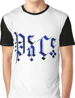 Calligraphy Peace Graphic T-Shirt