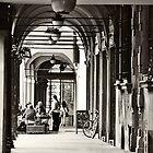 Arcades of Bologna, Italy by prante