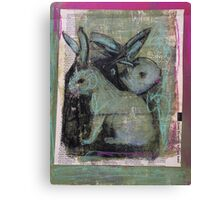 Tales of the Green Rabbits Canvas Print