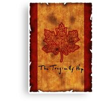 Canadian Band  Canvas Print